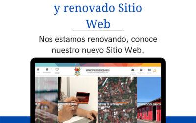 Nos estamos renovando, conoce nuestro nuevo Sitio Web